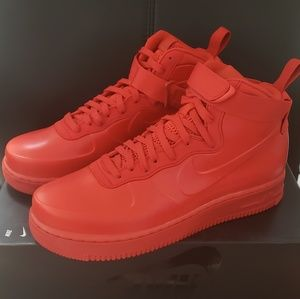 Nike Air Force 1 Foamposite Cup NA University Red NWT